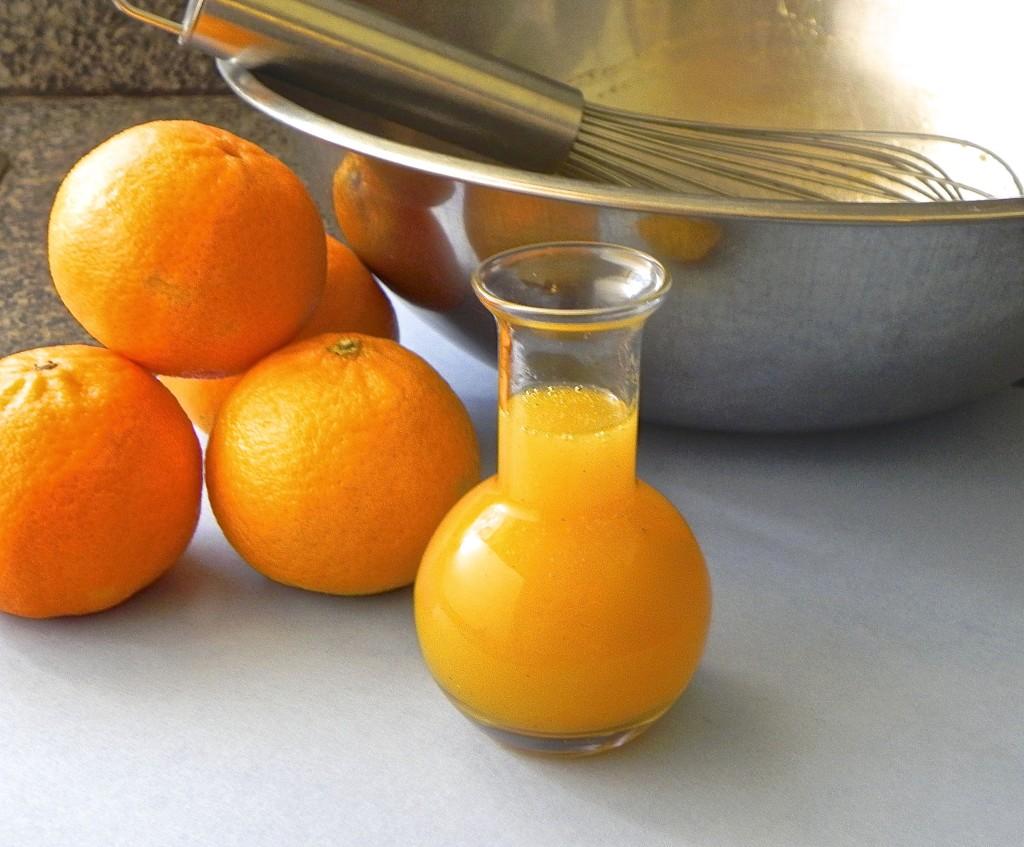 clementine vinaigrette 12-6-12