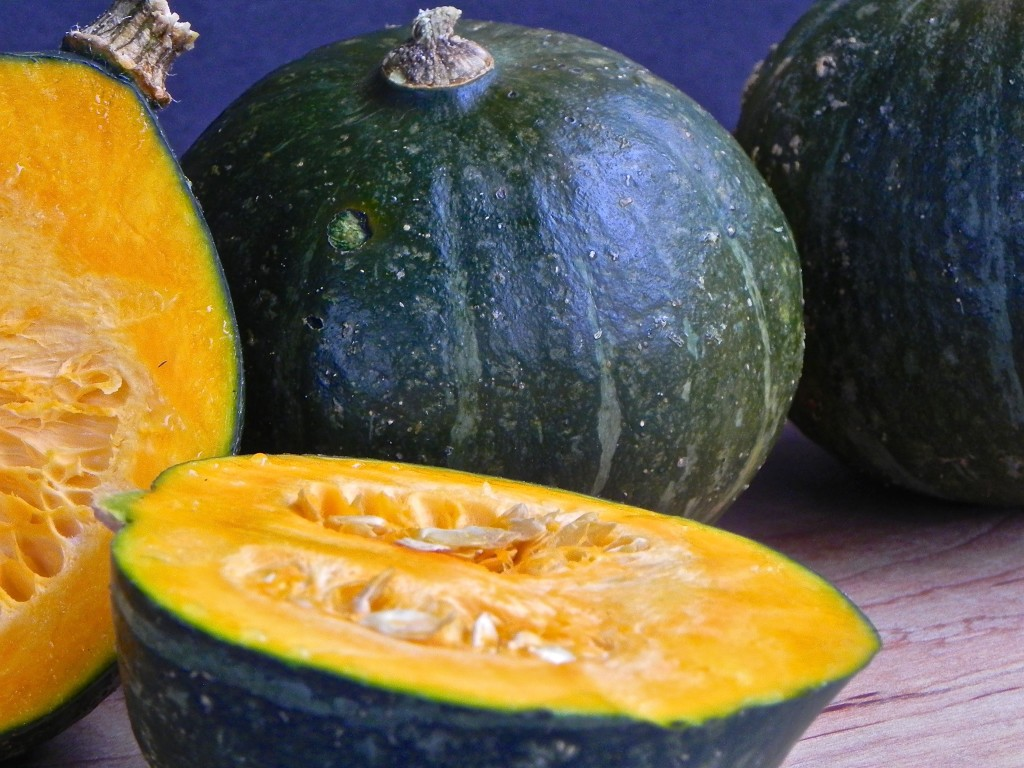 lovely kabocha squash from Pine Fork Farm in Quinton, Virginia