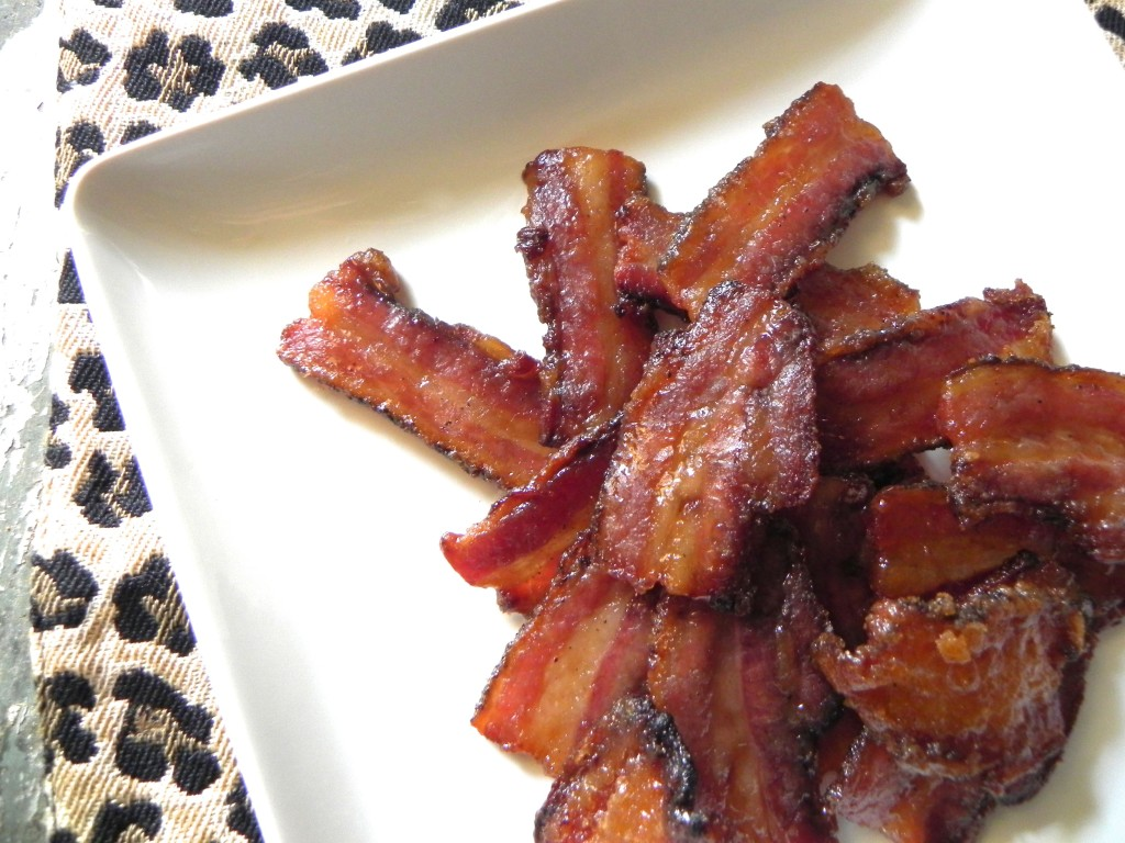 caramelized bacon
