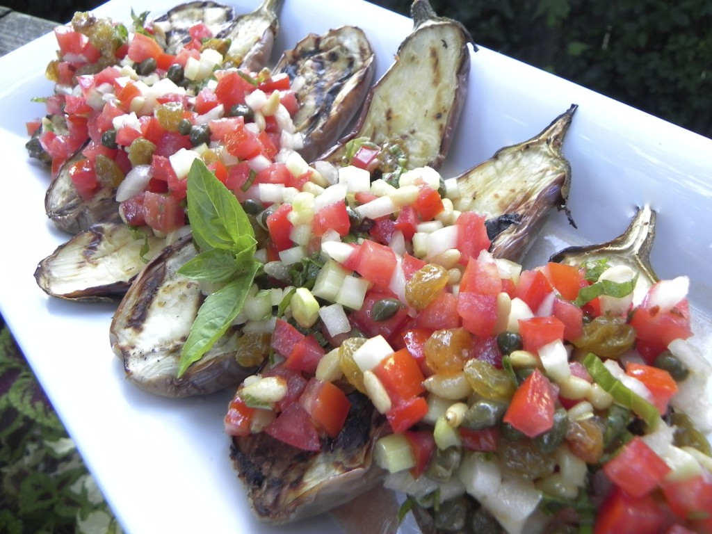 Caponata, Eggplant Relish Recipe — Dishmaps
