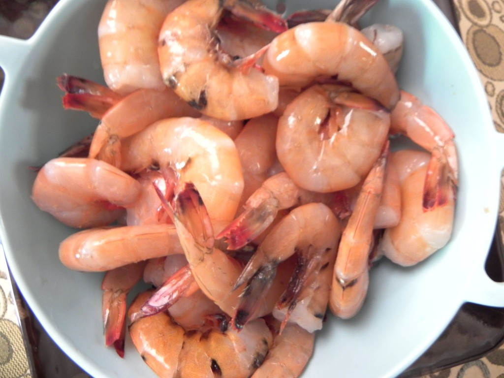 fresh Atlantic coast shrimp from Barham Seafood