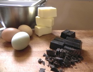 pine fork farm eggs and unsweetened chocolate