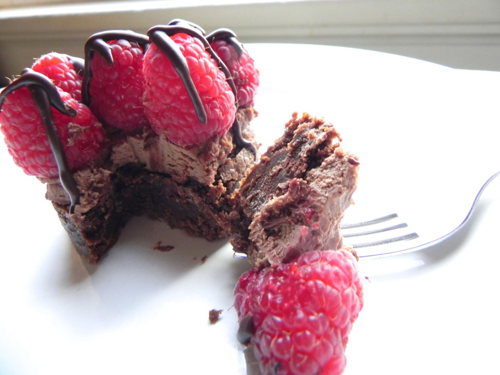 chocolate raspberry mascarpone tart