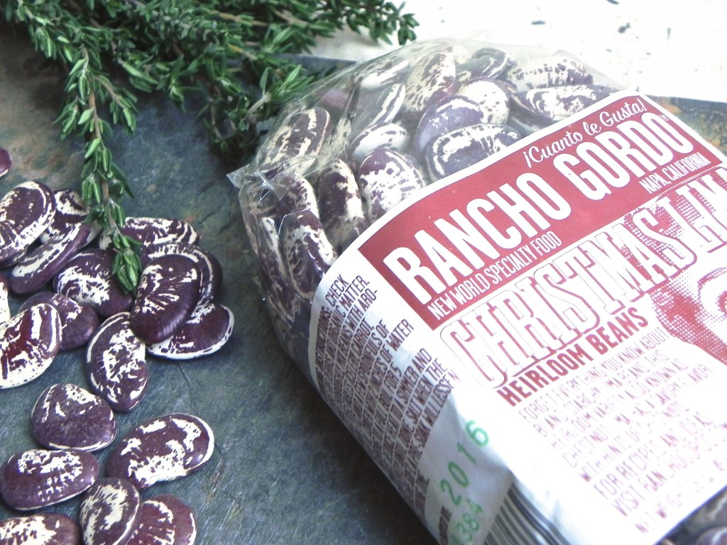 Rancho Gordo's heirloom Christmas limas