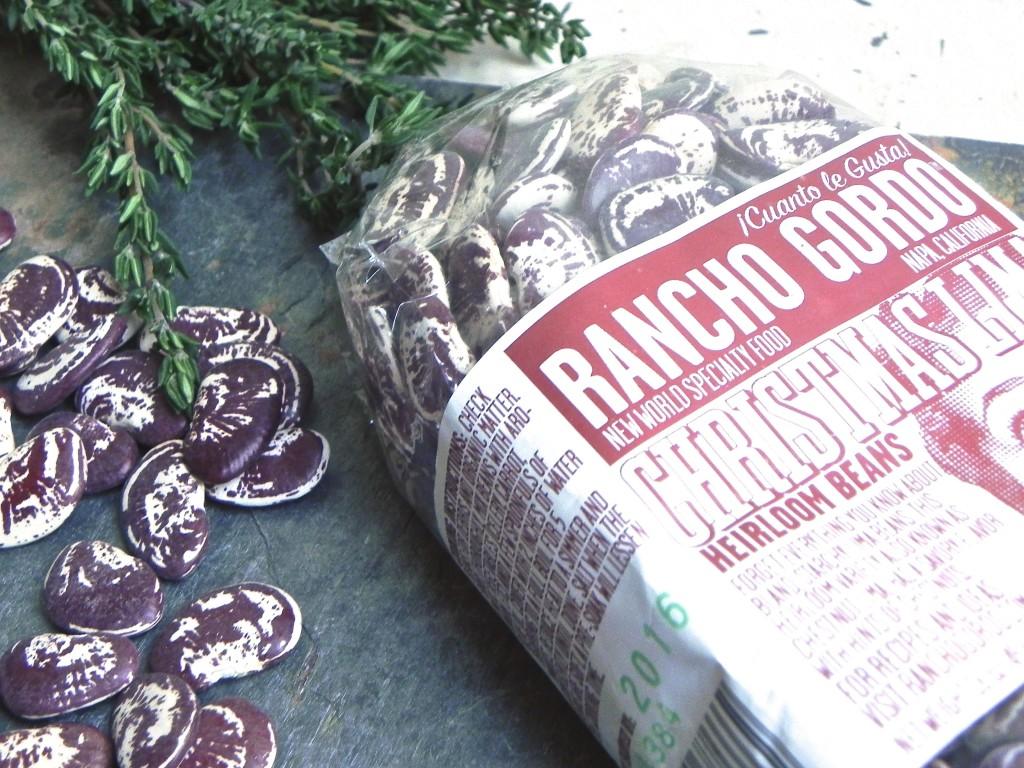 Rancho Gordo's heirloom Christmas limas