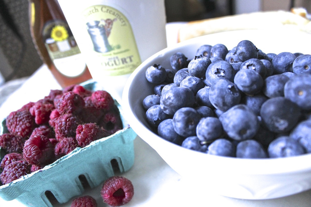 just-picked berries from Agriberry Farm in Hanover county, Virginia