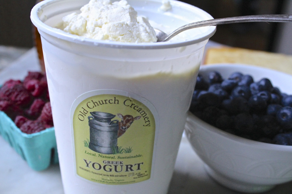 old church creamery greek yogurt