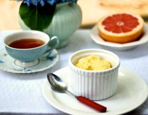 parmesan spoonbread soufflé