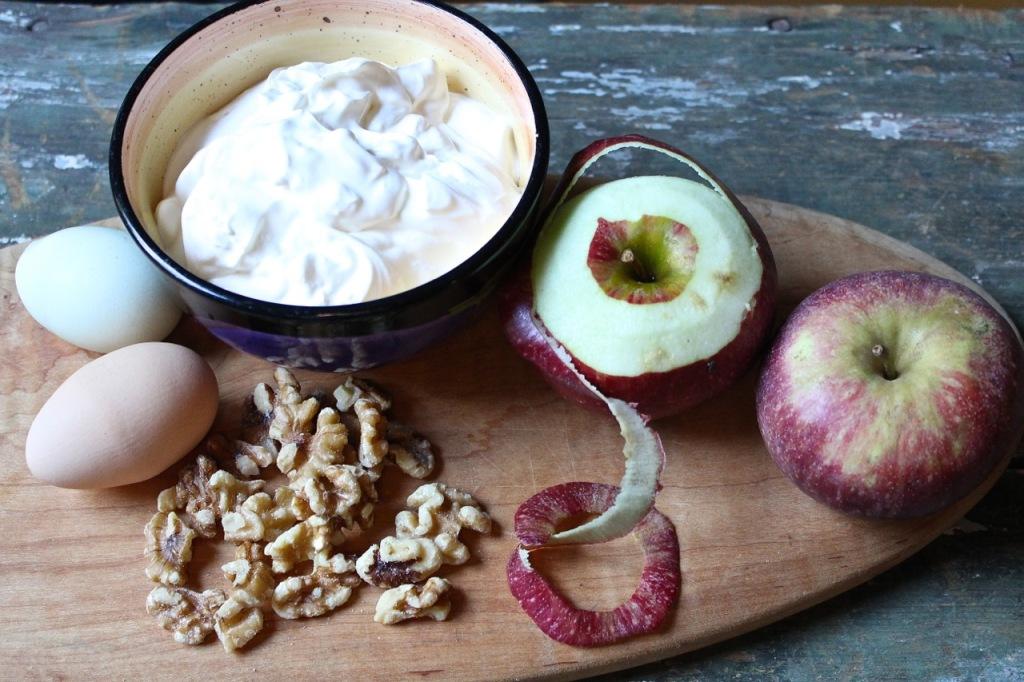 sour cream apple crumble ingredients