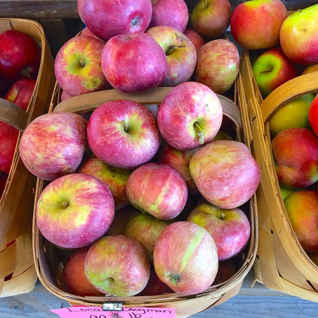 stayman apples at Berry's Produce
