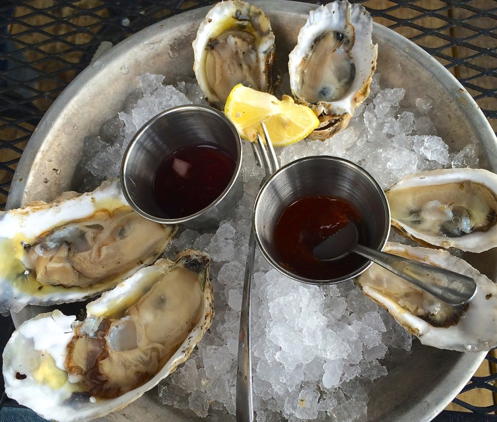 oysters at Merroir