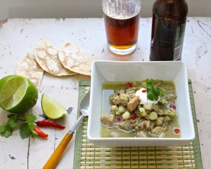 slow cooker pork pozole