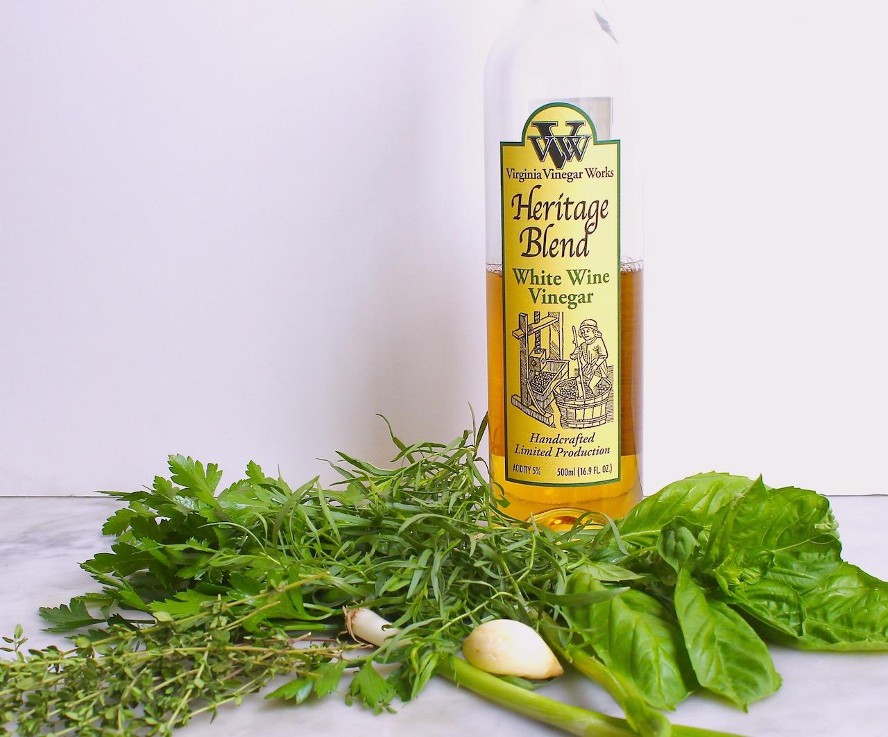 ingredients for herbed buttermilk dressing