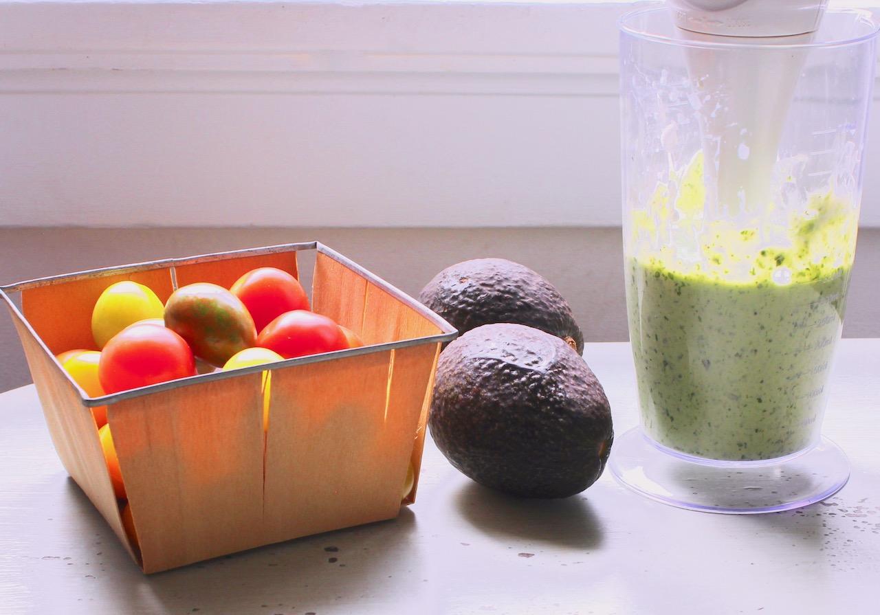 vegetables for herbed buttermilk dressing