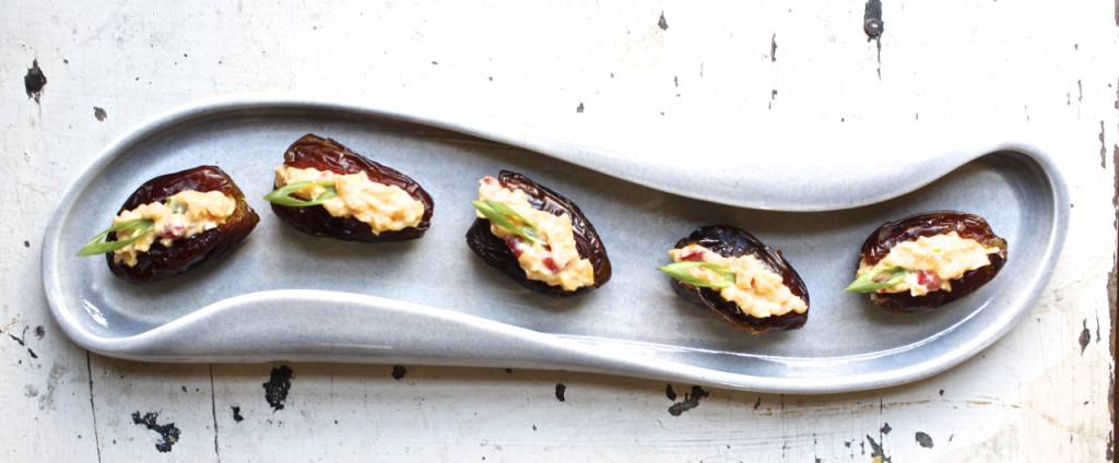 pimento cheese stuffed dates
