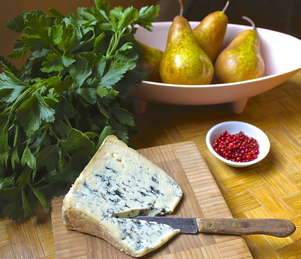 parsley pear salad