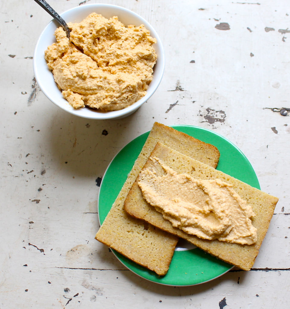 smoky vegan cashew cheese