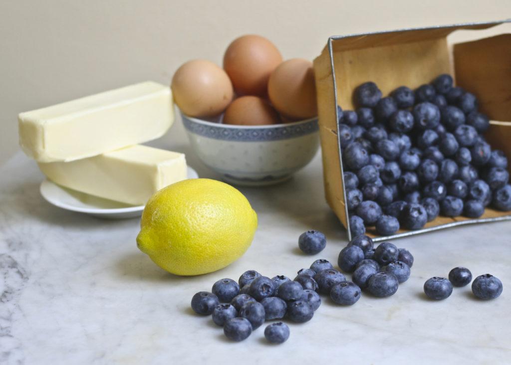 blueberry lemon cream cheese cake
