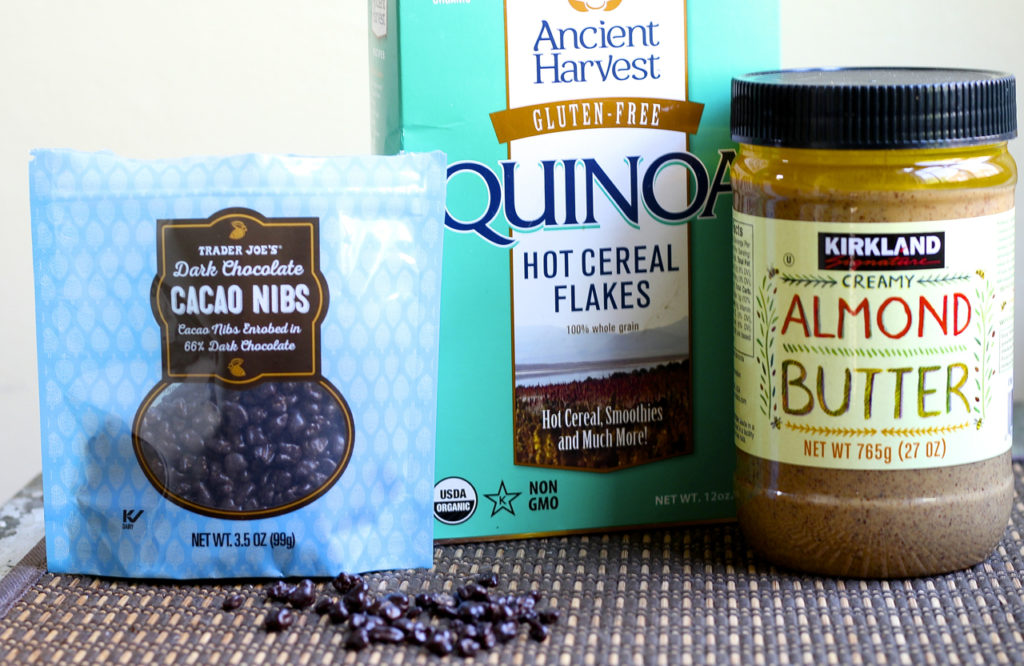 quinoa almond ice cream sandwiches