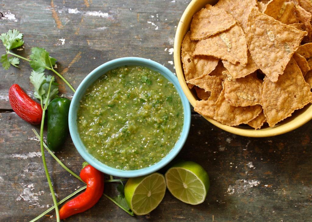 spicy salsa verde
