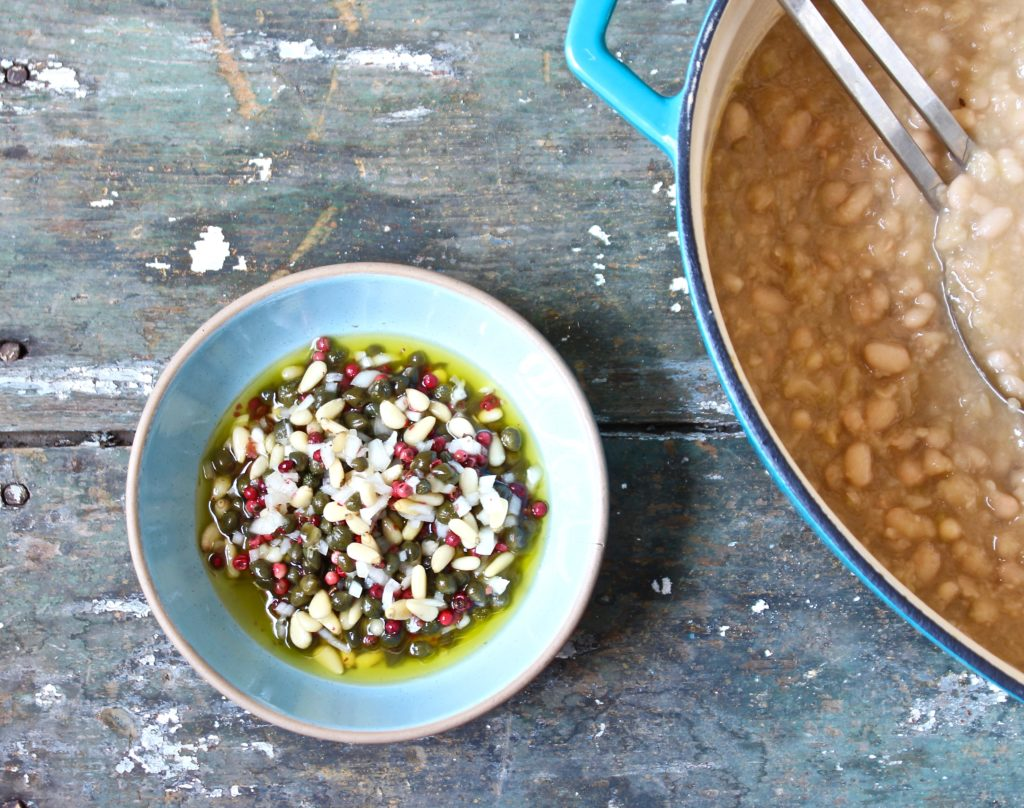 white bean and cabbage soup