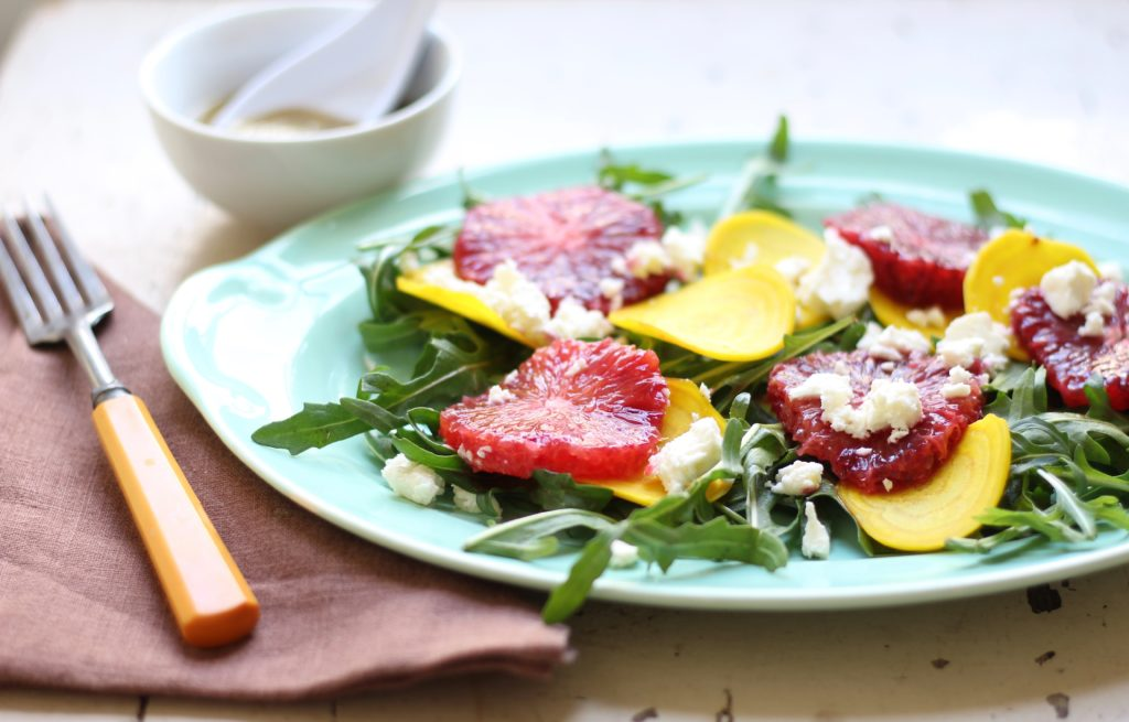blood orange beet salad
