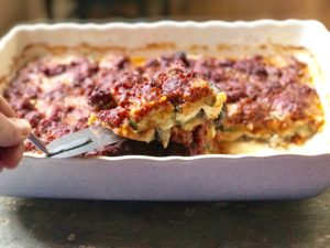 sausage cheese vegetable bake