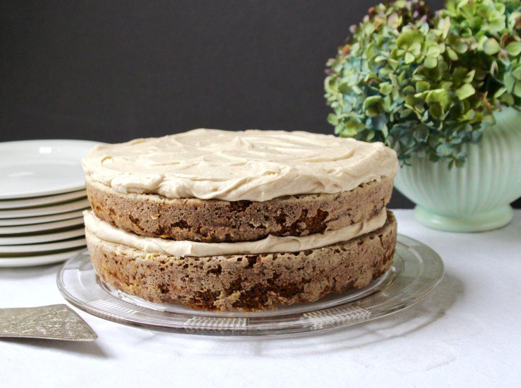 zucchini walnut spice cake