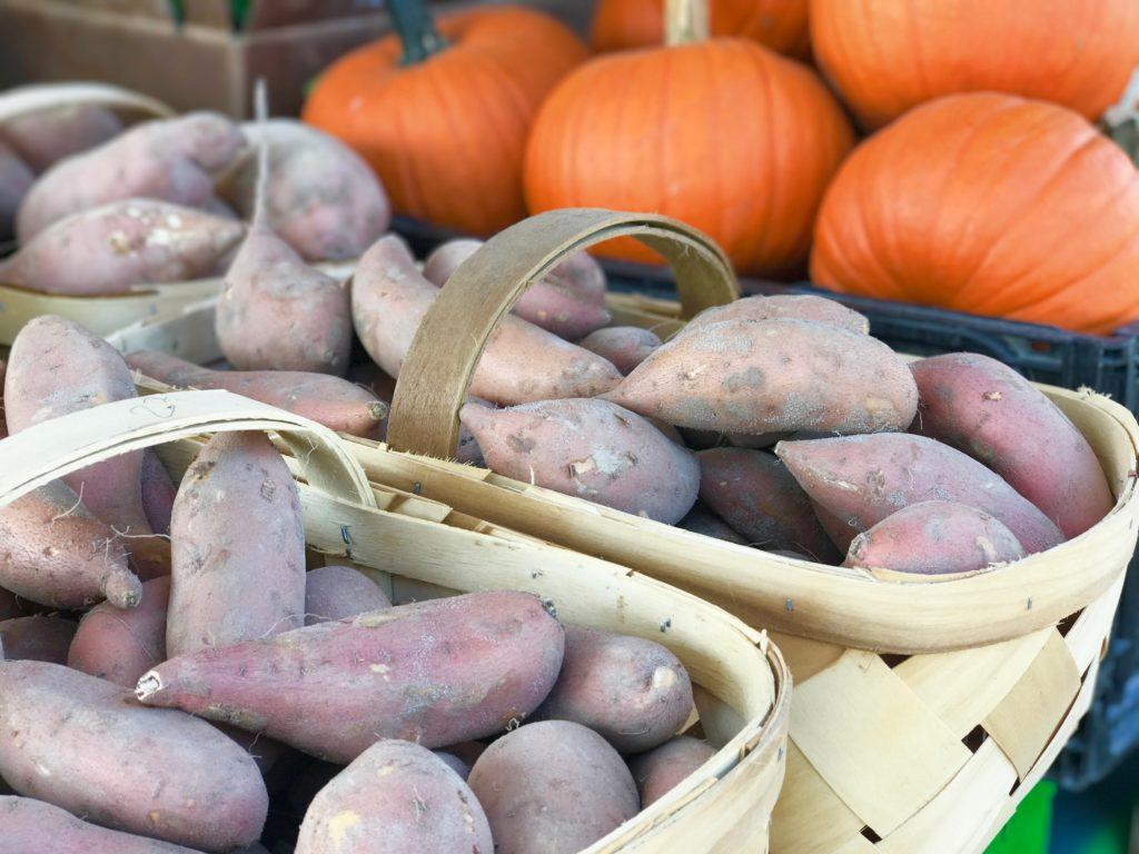 brown sugar sweet potatoes and apples