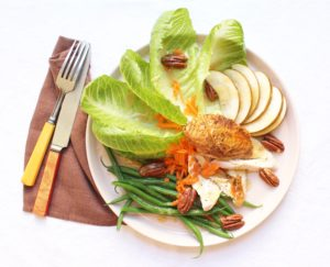 chicken and asian pear salad