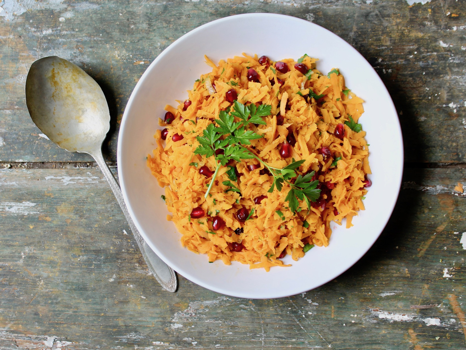 sweet potato pilaf