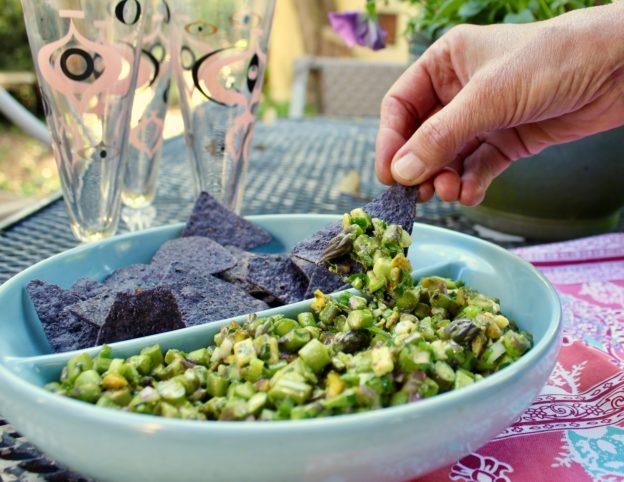 asparagus salsa verde