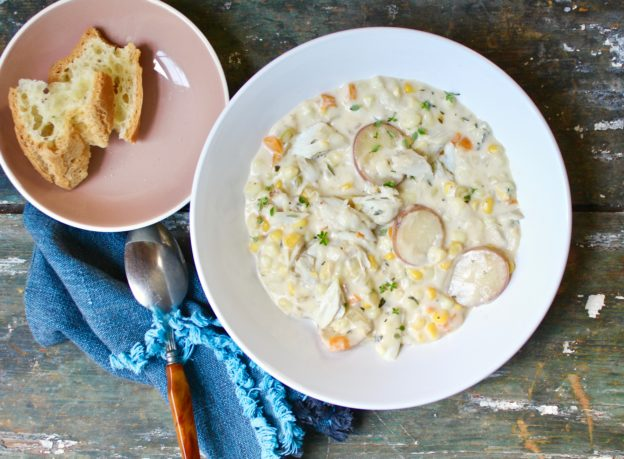 Crab Corn Chowder