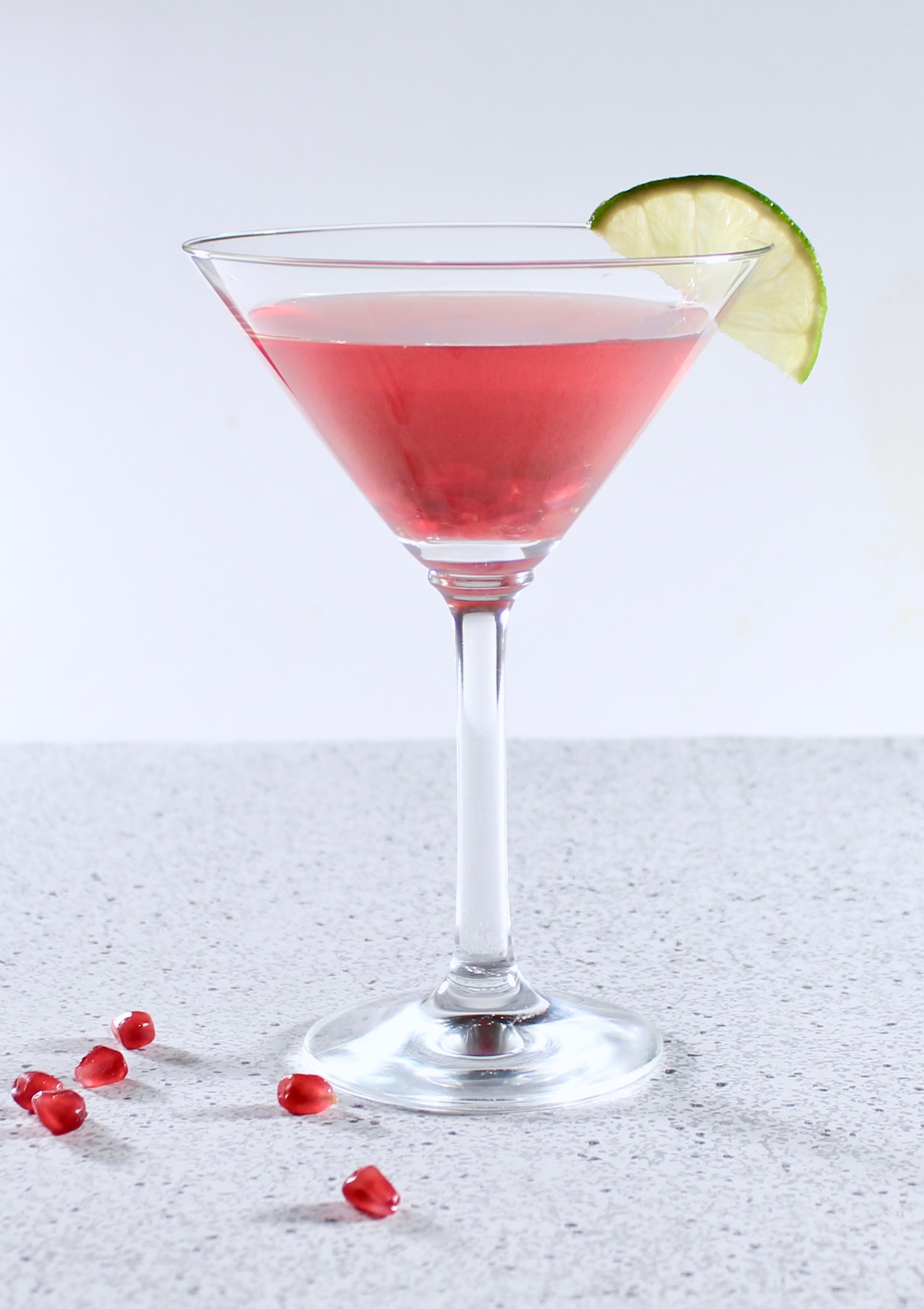 Jasmine Pomegranate Cocktail