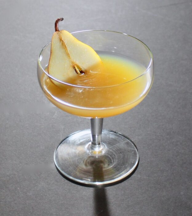 pear whiskey sour