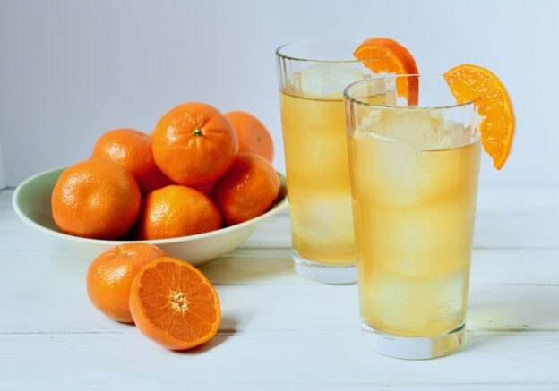 clementine honey iced tea
