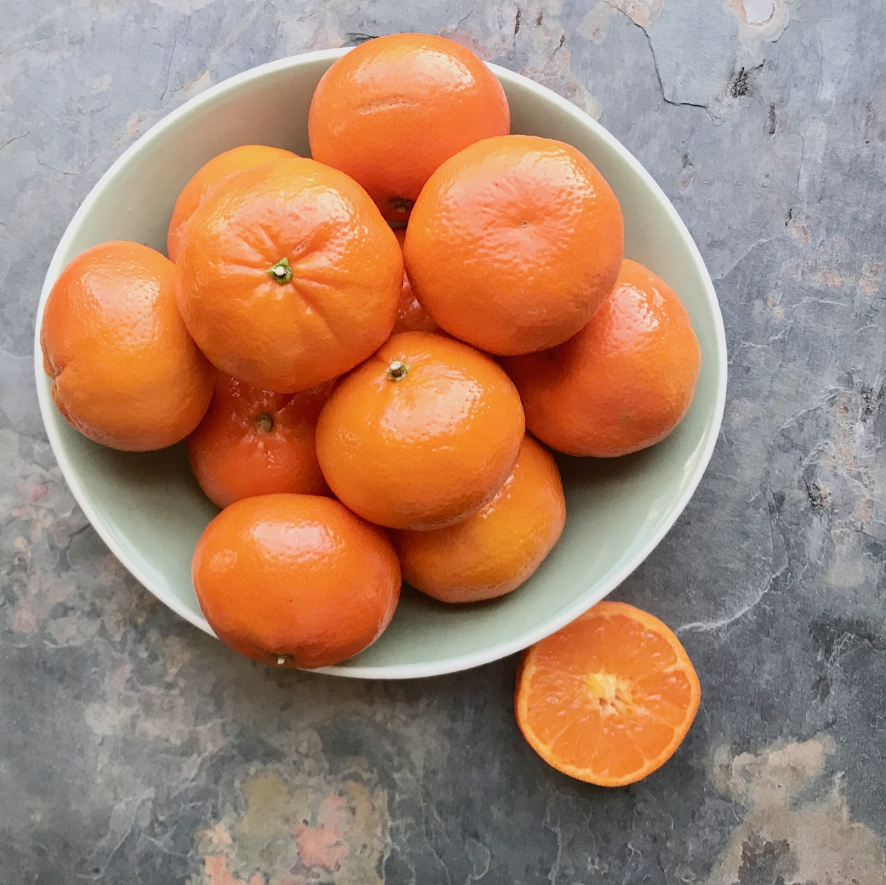 clementines for iced tea