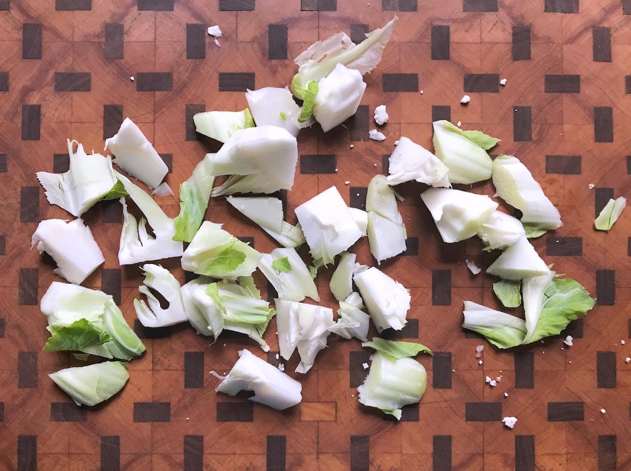 cauliflower trimmings